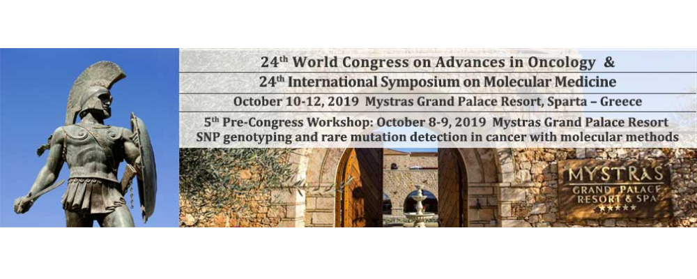 24th World Congress on Advances in Oncology and 24th International Symposium on Molecular Medicine